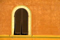 Orange Window Left