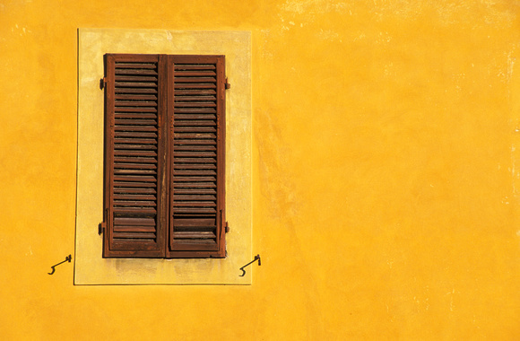 Yellow Window Left